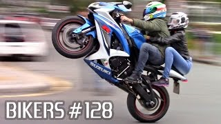 Video SUZUKI, BMW, HONDA & YAMAHA SUPERBIKES WHEELIES, BURNOUTS & more! - BIKERS #128 MP3, 3GP, MP4, WEBM, AVI, FLV Januari 2019