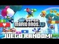 Juego Random New Super Mario Bros Wii U