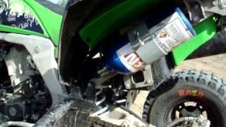 8. ATV kawasaki kfx 450r