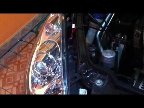 Instalar Kit Xenon H7 35W 6000 ºK CANBUS en Peugeot 307 EW10A