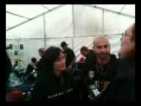 Pamela and Mr Dark interviewed @ Bloodstock Open Air by Metal Ashes of Phoenix Radio Show (UK)