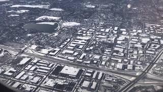 MC VIỆT THẢO- Phi cơ đáp xuống Phi trường Minneapolis−Saint Paul International Airport- Dec2, 2019.