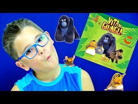 VITA DA GIUNGLA BUSTINE EDICOLA - Leo Toys (видео)
