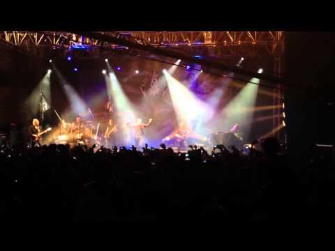 Liebesspiel & Fassade 3 fragment, Lacrimosa Live Mexico 2013