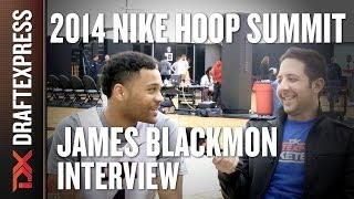 James Blackmon - 2014 Nike Hoop Summit - Interview