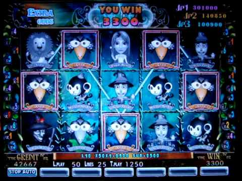 The Wizard of OZ (EXTRA ODDS) 9/25 Liner Slot Game www.changyu.com