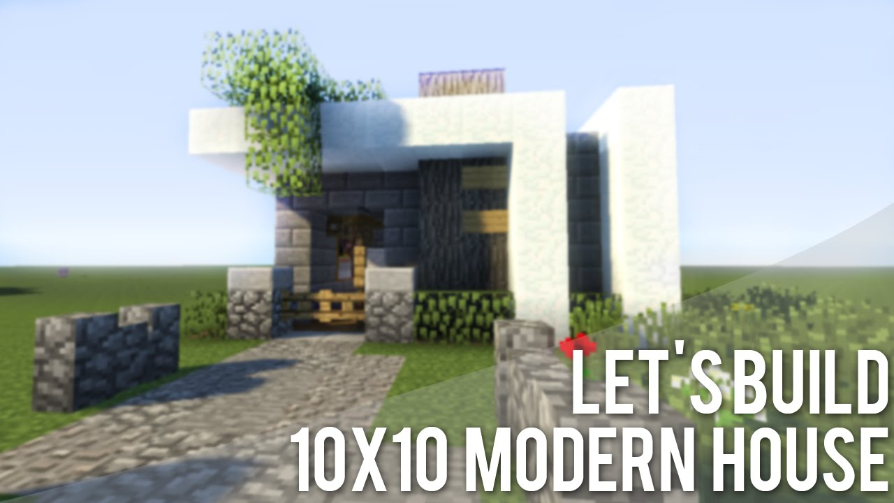 Songs in minecraft 10x10 modern house tutorial youtubetz hd wallpaper of this video baditri Choice Image