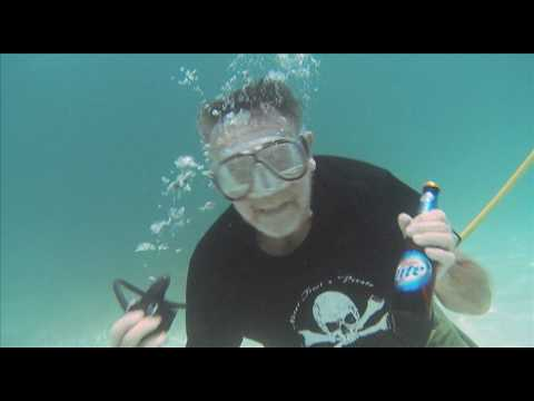 Concept beer commercials featuring treasure hunting with Capt. Carl Fismer