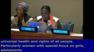 Esther Kimani's Intervention 5th Meeting at the HLPF 2017: UN Web TV - http://webtv.un.org