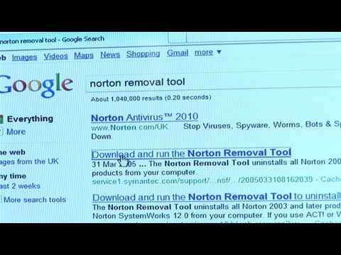 how to remove norton