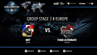 MFF vs Alternate Attax, game 2