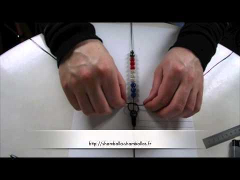 comment faire un shamballa - Comment faire votre bracelet shamballa 1,50m de fil noir 50cm de fil noir 9 perles 2 hématites de 10mm et 2 hématites de 08mm Vous retrouverez tous les produ...