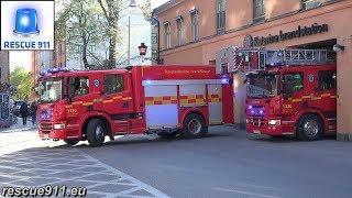 Video [Stockholm] 1310 + 1330 Storstockholms brandförsvar MP3, 3GP, MP4, WEBM, AVI, FLV Juni 2017