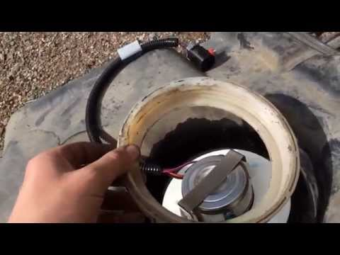 1997-01 jeep cherokee xj FUEL PUMP replacement, step by step, along with dropping the fuel tank