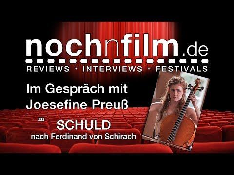 Interview   Josefine Preuß   SCHULD nach Ferdinand von Schirach