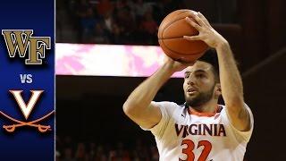 Wake Forest vs. Virginia Men's Basketball Highlights (2016-17)