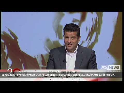 22/01/2020 | CASTELFRANCO, L' 'APPELLO' DI BOF: «SE MARCON CI RIPENSA STAPPIAMO LA BOTTIGLIA»