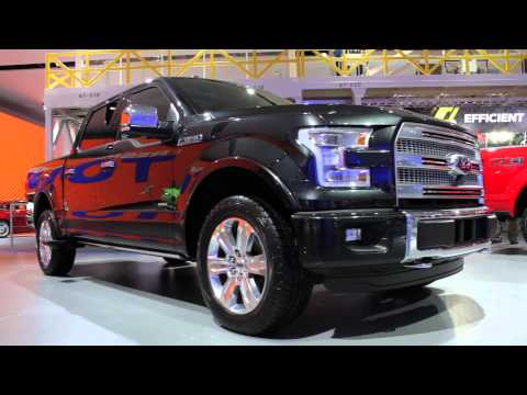 150 - We interview the Chief Engineer and Chief Designer of the 2015 Ford F-150 at the 2014 North American International Auto Show in Detroit. http://bit.ly/1ajgDcN.