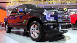 Shaping the 2015 Ford F-150 from Aluminum - Design and Engineering - 2014 Detroit Auto Show
