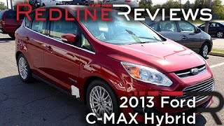 2013 Ford C-MAX Hybrid Review, Walkaround, Exhaust, Test Drive
