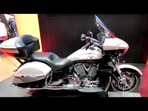 2014 Victory Cross Country Tour Walkaround - 2013 EICMA MIlan Motorcycle Exhibition
