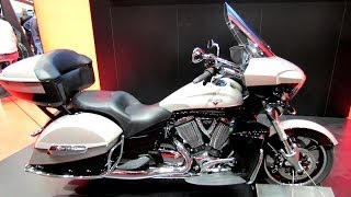 9. 2014 Victory Cross Country Tour Walkaround - 2013 EICMA MIlan Motorcycle Exhibition