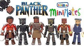 Video Marvel Minimates Black Panther vs Killmonger ToysRUs Exclusive Unboxing MP3, 3GP, MP4, WEBM, AVI, FLV Juni 2018