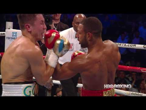 gennady golovkin vs kell brook - highlights