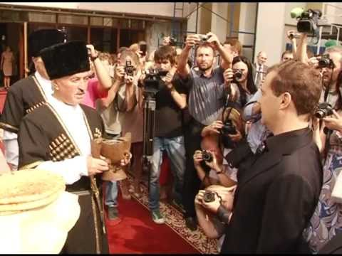Рабочий визит Председателя Правительства Российской Федерации Дмитрия Медведева в Республику Южная Осетия