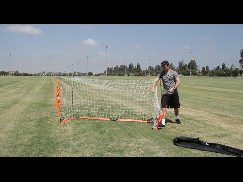 BOWNET faltbares Fußballtor - Aufbau