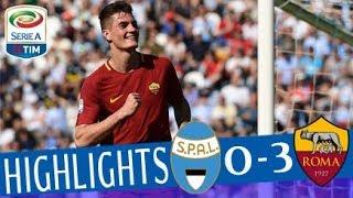 Video SPAL - Roma 0-3 - Highlights - Giornata 34 - Serie A TIM 2017/18 MP3, 3GP, MP4, WEBM, AVI, FLV Mei 2018