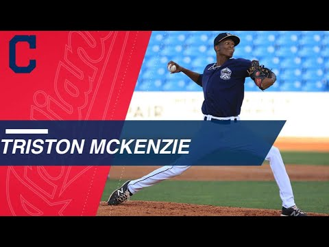 Video: Top Prospects: Triston McKenzie, RHP, Indians