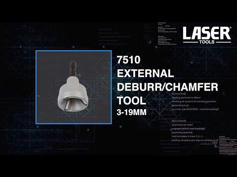 External Deburr/Chamfer Tool 3-19mm