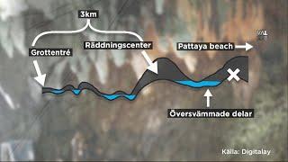 Video 5 kilometer till frihet - svårt för pojklaget ta sig ut ur översvämmade grottan - Nyhetsmorgon (TV4) MP3, 3GP, MP4, WEBM, AVI, FLV September 2018