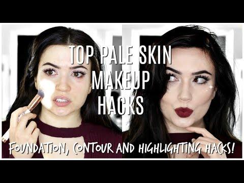 Makeup For Pale Fair Skin   TOP MAKEUP HACKS FOR PALE SKIN