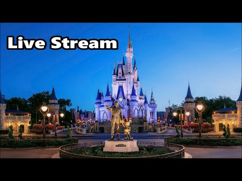 Magic Kingdom Live Stream - 2-9-18 - Walt Disney World