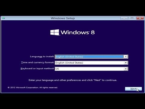 CareyHolzman - In this video I detail the complete installation process of Windows 8 on a new drive, including drivers, updates and software. This is the operating system i...