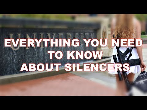 Everything you need to know about silencers