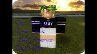 Sorry Not Sorry (Roblox Music Video)