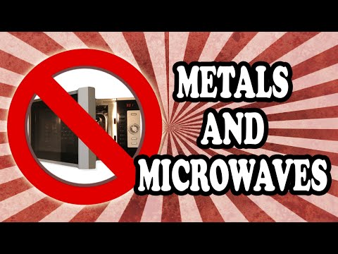 Why You Can't Put Metals in the Microwave