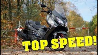 3. 2017 Suzuki Burgman 400 - TOP SPEED