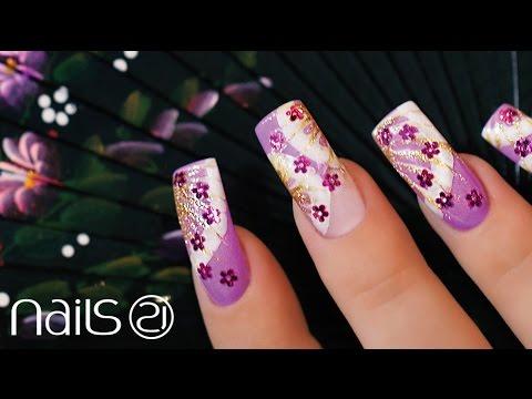 nail art - ispirazione tokio