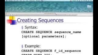 Oracle Database - Lecture 9