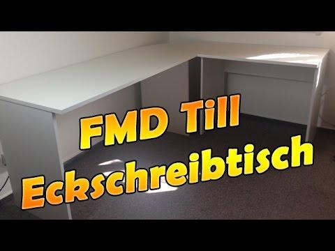 FMD Till Eckschreibtisch - Winkelkombination - Unboxing/Aufbau/Review | HD - Deutsch