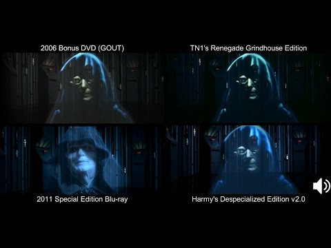 ORIGINAL Emperor's Message | The Empire Strikes Back (1980) [DeEd, Blu-ray, GOUT, Renegade]