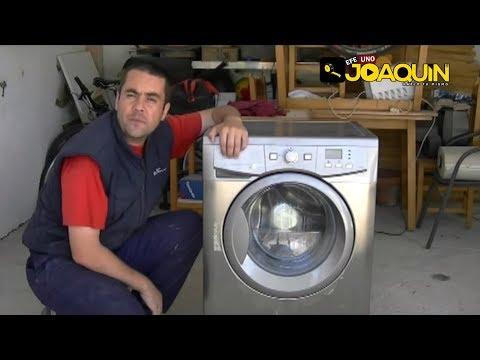 Como detectar y cambiar cojinetes de una lavadora