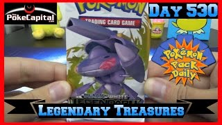Pokemon Pack Daily Legendary Treasures Booster Opening Day 530 - Featuring ThePokeCapital by ThePokeCapital