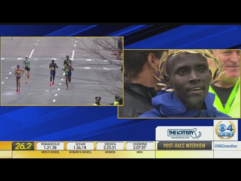 Lawrence Cherono 'So Happy, So Grateful' After Boston Marathon Photo Finish