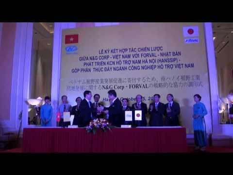 Lễ ký kết N&N Corp - Forval 25 - 2012 tại KS Daewoo Hà Nội