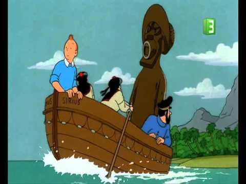 تان تان وكنز القرصان الأحمر